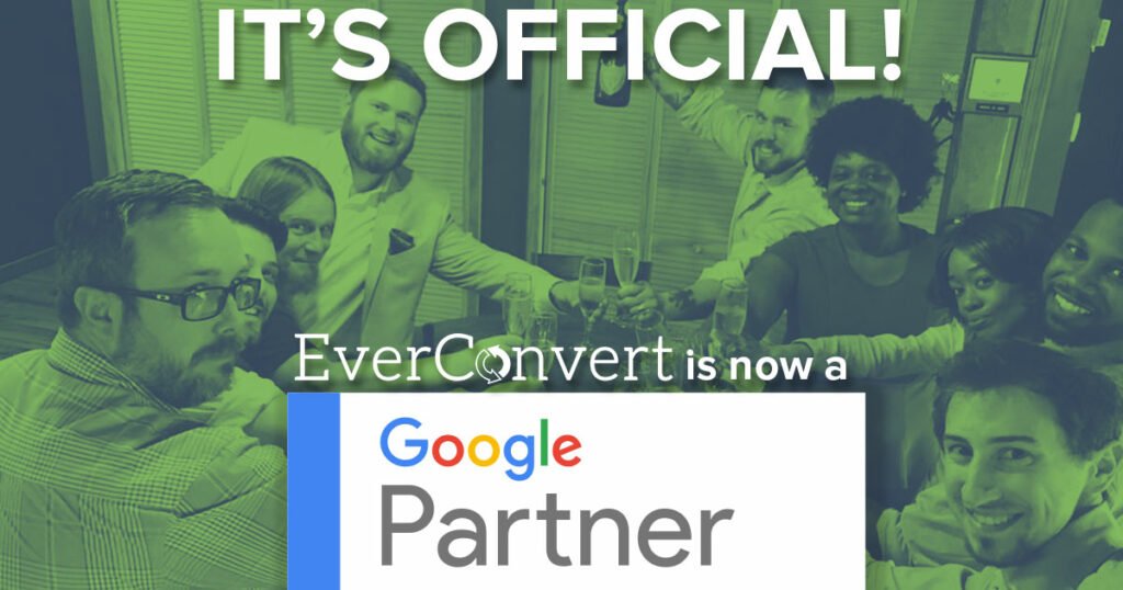 Google awards EverConvert the Google partner badge
