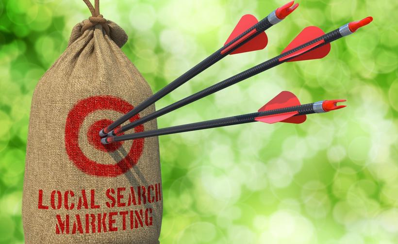 arrows hit the target of local search marketing, Google My Business