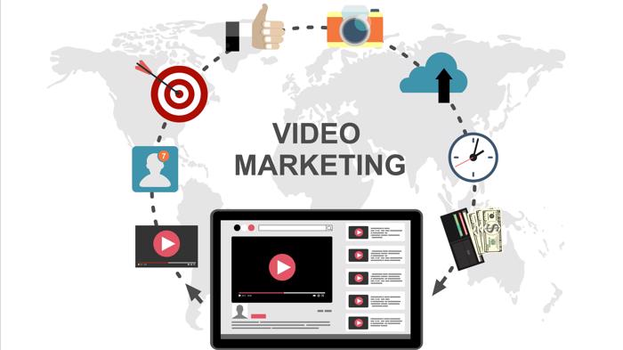 Video Marketing Concept, YouTube SEO Strategy